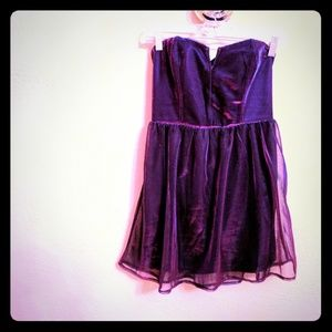 Iridescent ❇️ purple party dress - Lucca Couture